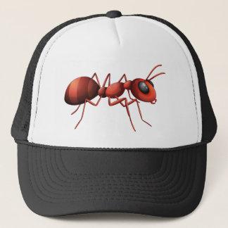Boné Design vermelho da formiga