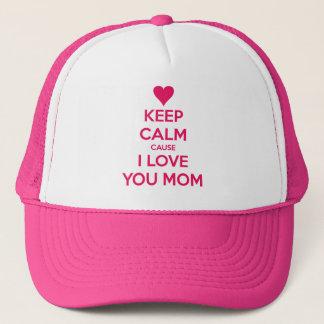 Boné Dia das mães feliz