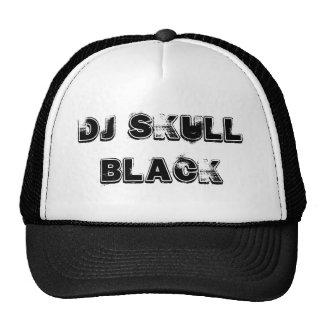 Boné DJ skull black