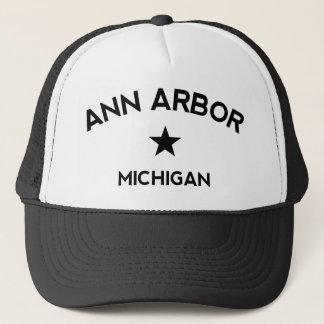 Boné do camionista de Ann Arbor Michigan