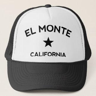 Boné do camionista do EL Monte Califórnia