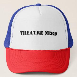 Boné do camionista do nerd do teatro