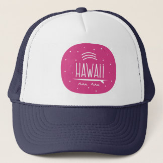 "Boné Do ""chapéu de Havaí da prancha arco-íris"""