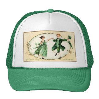 Boné do dia de St Patrick do Victorian do vintage
