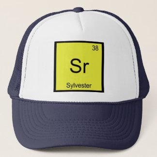 Boné Do elemento conhecido da química de Sylvester mesa