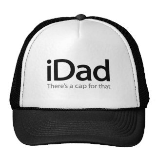 boné do iDad (pai de i) - um chapéu engraçado para