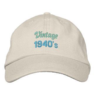 Boné dos anos 40 do VINTAGE