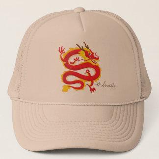 Boné Dragão do chinês tradicional. Adicione seu nome
