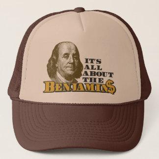 Boné É toda sobre o Benjamins