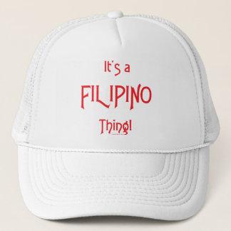 Boné É uma coisa filipina!