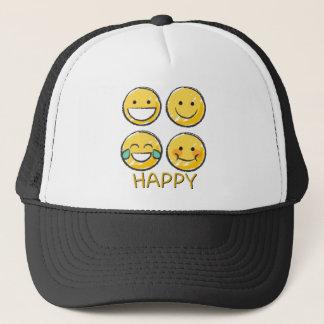 Boné Emojis feliz