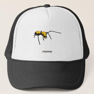 Boné Esboço gráfico do amarelo da formiga