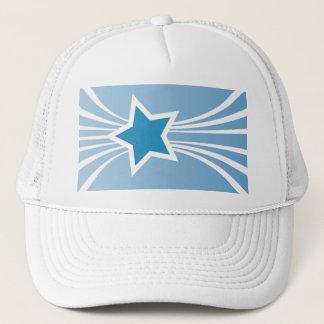Boné Estrela azul