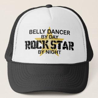 Boné Estrela do rock do dançarino de barriga em a noite