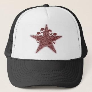 Boné Estrela Red Hat do crânio