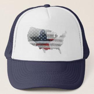 Boné Estrela rústica da bandeira dos EUA