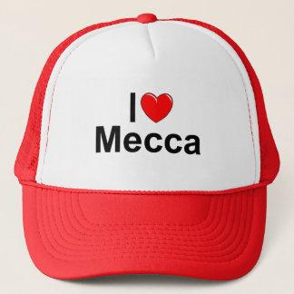 Boné Eu amo a Meca (do coração)