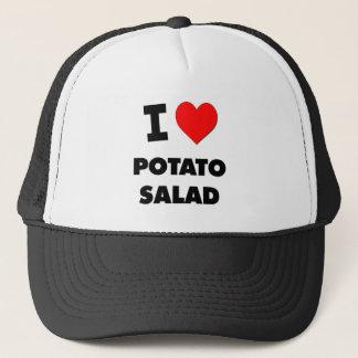 Boné Eu amo a salada de batata (a comida)