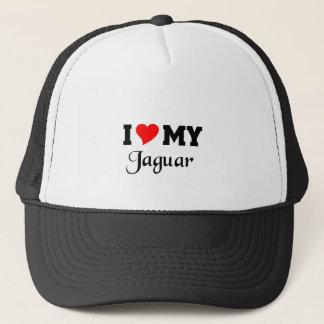 Boné Eu amo meu Jaguar