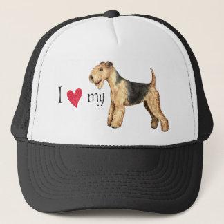 Boné Eu amo meu Lakeland Terrier