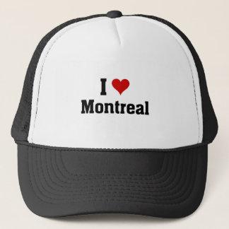 Boné Eu amo Montreal