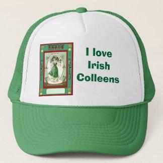 Boné Eu amo o irlandês Colleens