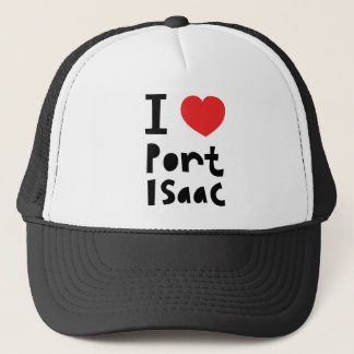 Boné Eu amo o porto Isaac