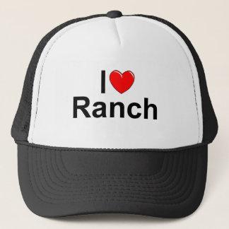 Boné Eu amo o rancho (do coração)