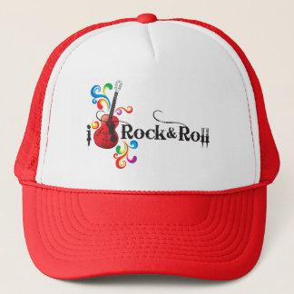 Boné eu amo produtos do rock and roll