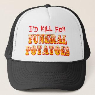 Boné Eu mataria para batatas fúnebres