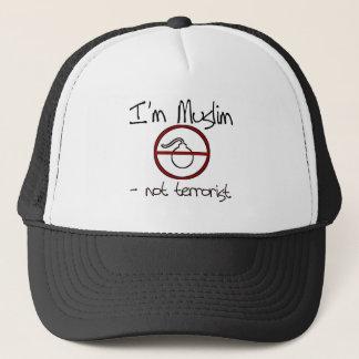 Boné Eu sou muçulmano - não terrorista