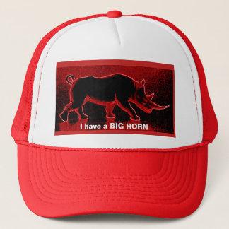 Boné Eu tenho o chapéu de um camionista vermelho do