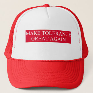 Boné Faça o excelente da tolerância outra vez