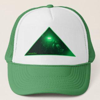 Boné faraó verde no verde