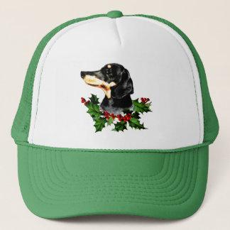 Boné Feriados felizes do Dachshund do Natal de Hollydax