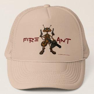 Boné Formiga de fogo engraçada com design do chapéu da