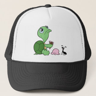 Boné Formiga feliz da tartaruga triste