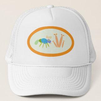 Boné formigas: formiga azul e verde