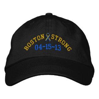 Boné forte do bordado da fita 04-15-13 de Boston