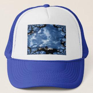 Boné Fractal das nuvens de tempestade