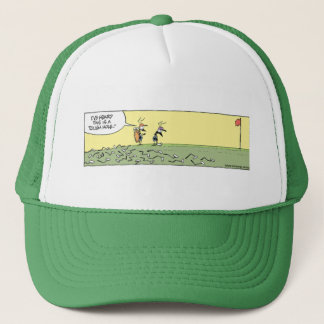 Boné Furo de dobra do clube de golfe do pântano