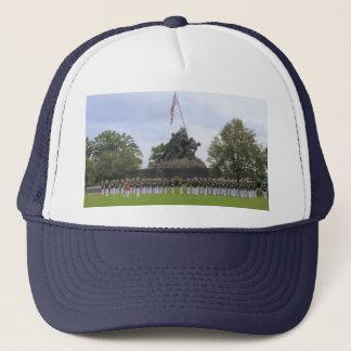 Boné Fuzileiros navais no chapéu da estátua de Iwo Jima
