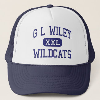 Boné G L Wildcats Leander médio Texas de Wiley