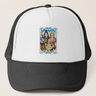 Boné Ganesh, Shiva e Parvati, senhor Ganesha, Durga