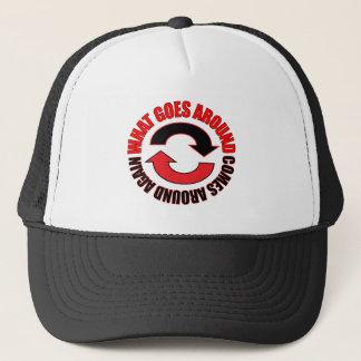 Boné Goe em torno do chapéu