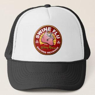 Boné Gripe dos suínos - vingança dos bacon!