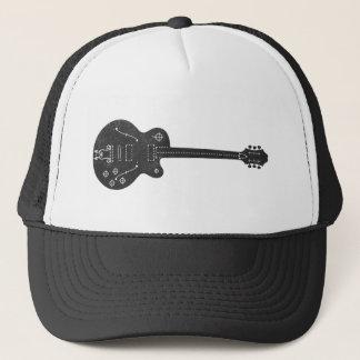 Boné Guitarra das especs.