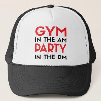 Boné Gym no partido do AM no PM