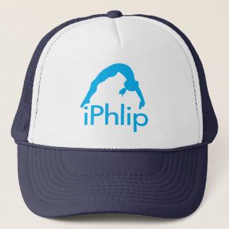 Boné Gymnast azul da ginástica do iPhlip