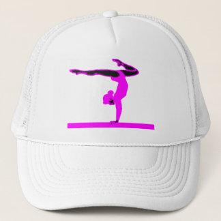 Boné Gymnast (rosa quente)